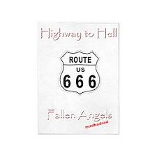 H2H Fallen Angels 6000 5'x7'Area Rug