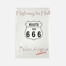 H2H Fallen Angels 6000 Rectangle Magnet
