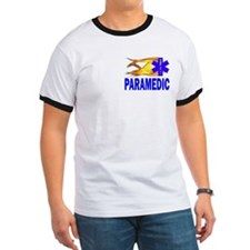 Paramedic Flaming Star of Life T