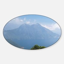 Corsica. View from the Mare e Monte Sticker (Oval)