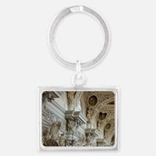 St. Steven's Cathedral interior Landscape Keychain