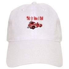 How I Roll- Fire Truck Hat