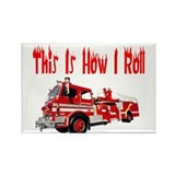 Funny firefighter Magnets