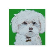 "5x7 Maltese Square Sticker 3"" x 3"""