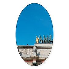 Neoclassical Art. Arc de Triomphe d Decal