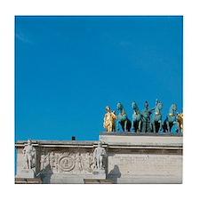 Neoclassical Art. Arc de Triomphe du  Tile Coaster