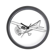 Private Airplane Wall Clock