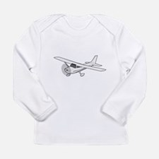 Private Airplane Long Sleeve T-Shirt