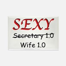 Sexy (Secretary) Wife 1 Rectangle Magnet