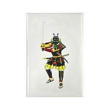 Samurai Rectangle Magnet (10 pack)