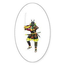 Samurai Oval Decal