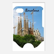 Barcelona_2.34x3.2_iPhone Postcards (Package of 8)