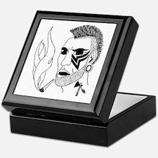 Modern Day Mohawk Keepsake Box
