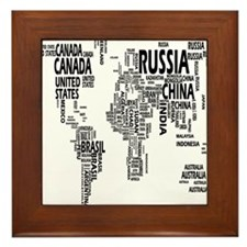 united states Framed Tile