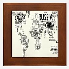 united states Framed Tile