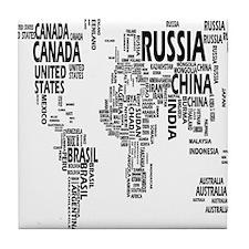 united states Tile Coaster