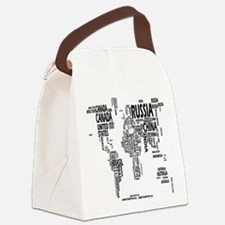 united states Canvas Lunch Bag