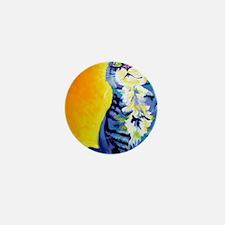 cat - kitten stripes - P Mini Button