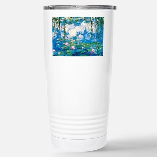 Laptop Monet Nymph Stainless Steel Travel Mug