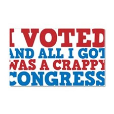 ivoted Car Magnet 20 x 12