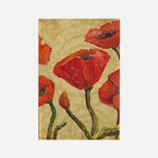 poppy-parade443_iphone_case Rectangle Magnet