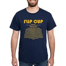 Flip Cup (gold) T-Shirt