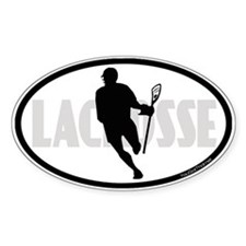 Lacrosse IRock Oval II Decal
