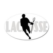 Lacrosse IRock Oval II Wall Decal