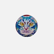 cat - mystery reboot Mini Button