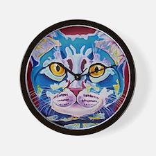 cat - mystery reboot Wall Clock