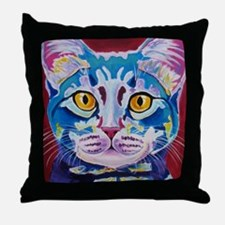 cat - mystery reboot Throw Pillow