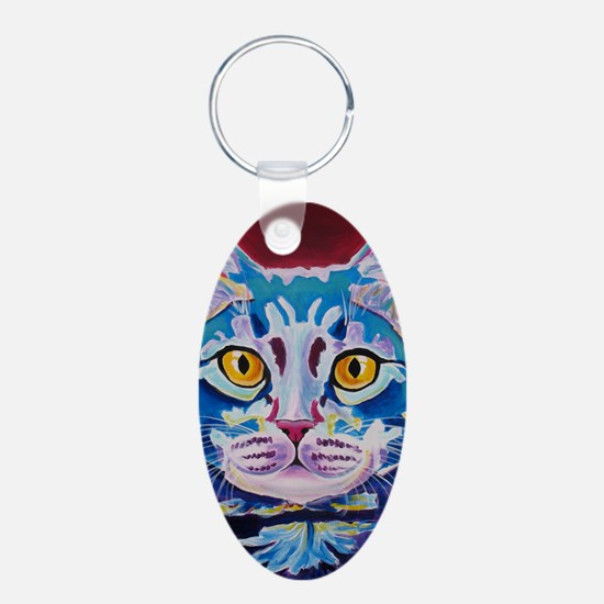 cat - mystery reboot Keychains