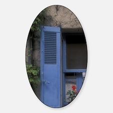 Mougins Hilltop village windowMougi Decal
