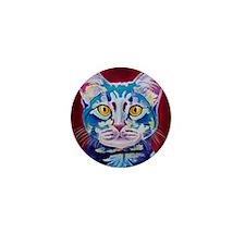 cat - mystery reboot square Mini Button