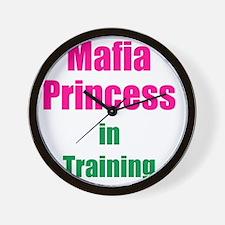 Mafia princess in training new Wall Clock