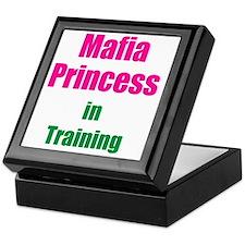 Mafia princess in training new Keepsake Box