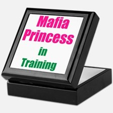 Mafia princess in training new Keepsake Box