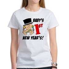 Babys First New Years Tee