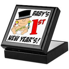Babys First New Years Keepsake Box