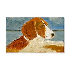 Beagle Portrait Car Magnet 20 x 12