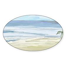Beach Woman Decal