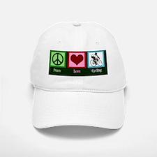 peacelovecyclingcard Baseball Baseball Cap