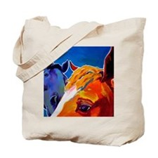 horse - we come in peace Tote Bag