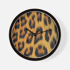 leopard skin Wall Clock