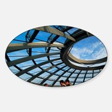 Germany, Berlin, Reichstag Dome. Decal