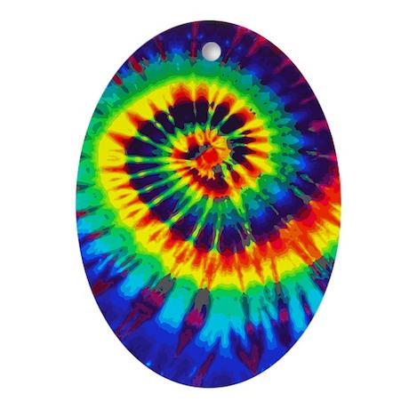 441 Bright Oval Ornament