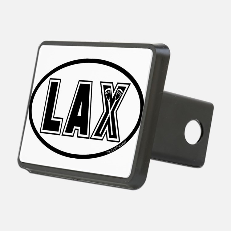 Lacrosse Lax Oval Hitch Cover