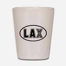 Lacrosse Lax Oval Shot Glass