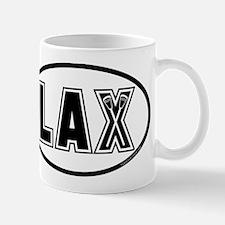 Lacrosse Lax Oval Mug