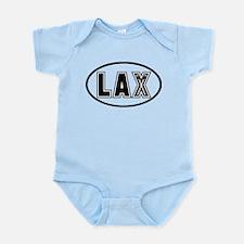 Lacrosse Lax Oval Infant Bodysuit